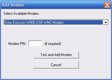 Ericsson wmc driver sony modem